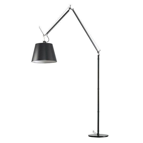 Artemide Tolomeo Mega Terra Vloerlamp Met Aan-/uitschakelaar Zwart