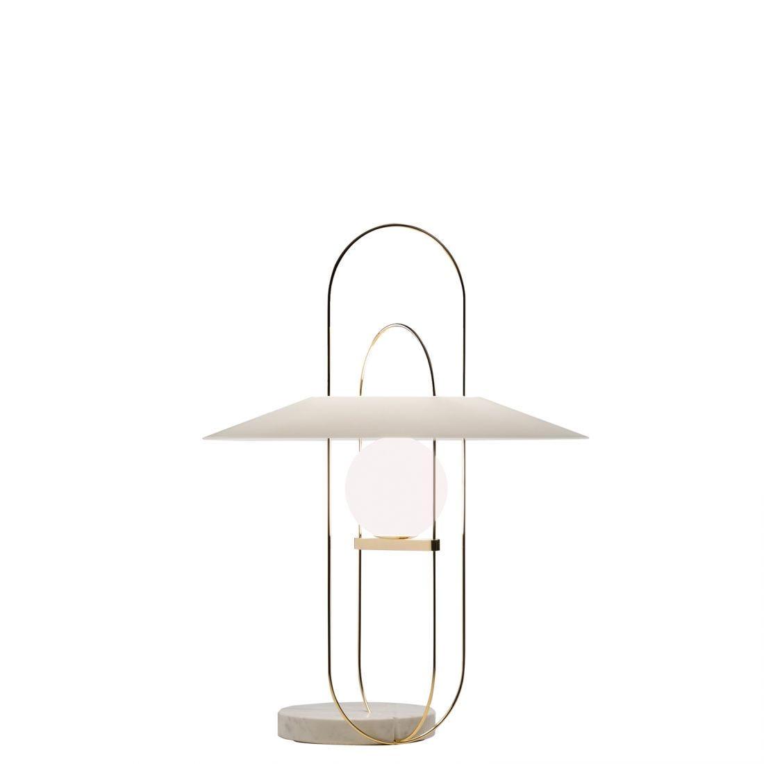 Fontana Arte Setareh Glass Medium Tafellamp
