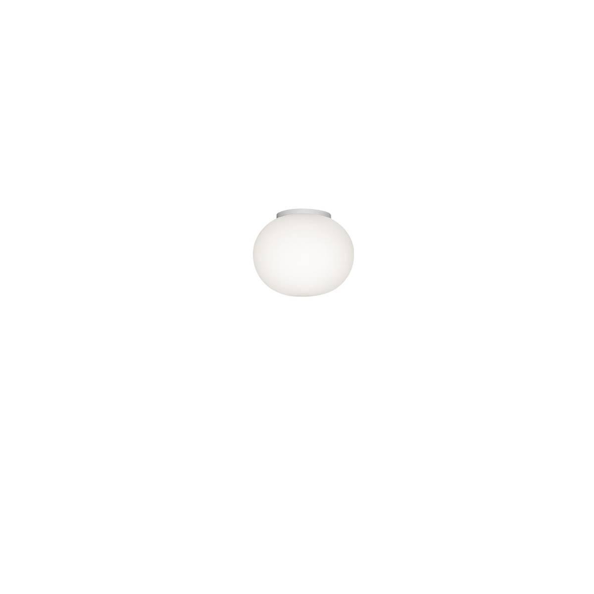 Flos Mini Glo-Ball C-W Mirror Wandlamp-Plafondlamp