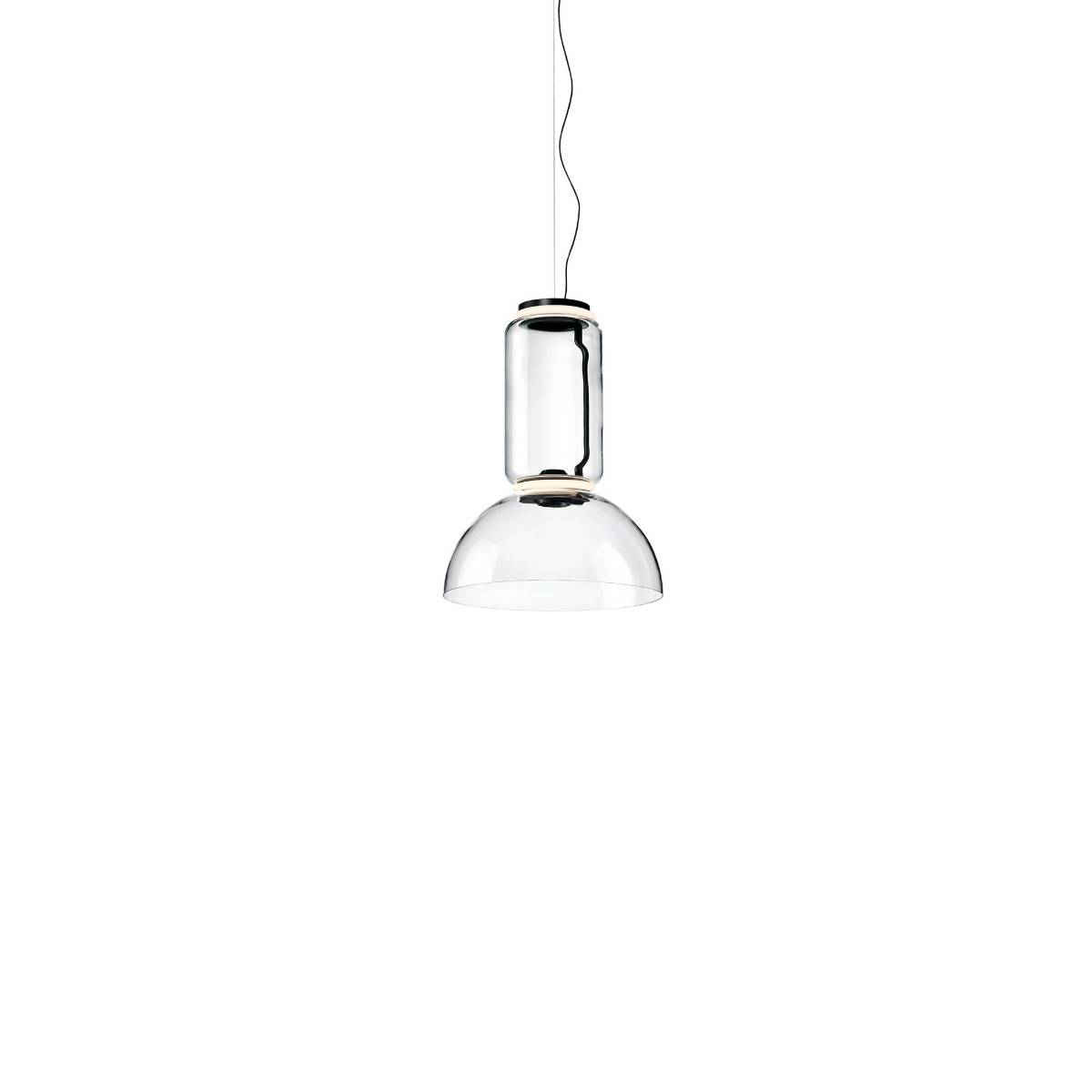 Flos Noctambule S1 Low Cylinder And Bowl Hanglamp