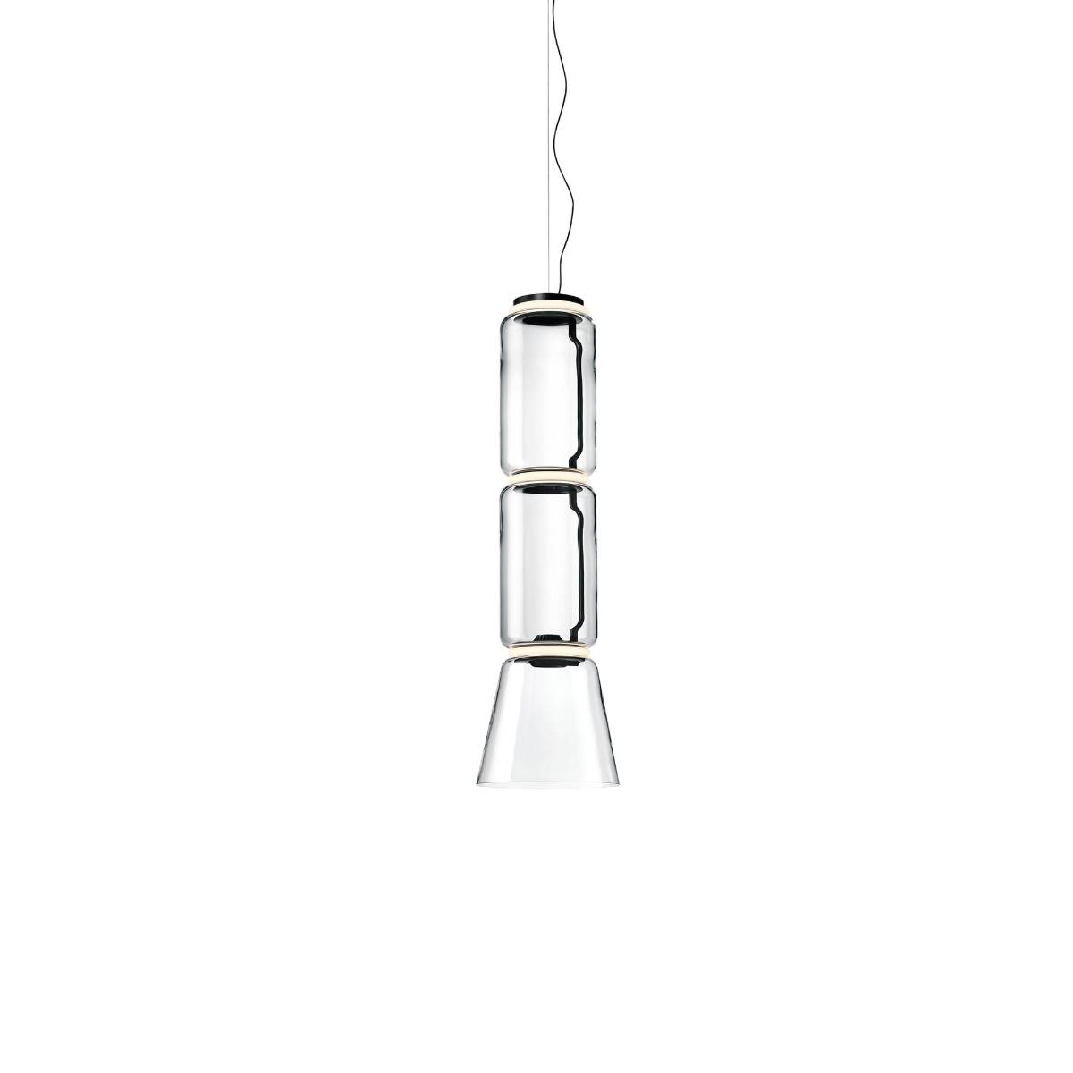 Flos Noctambule S2 Low Cylinder And Cone Hanglamp